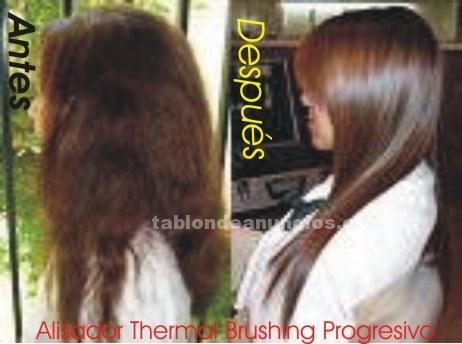 Salud/Belleza: 0 alisador de cabellos brushing japones progresivo