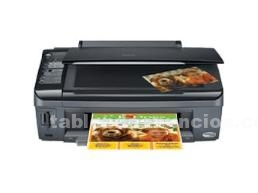 Impresora/Scanners: Impresora multifuncion epson cx 7300 1 aÑo gtia