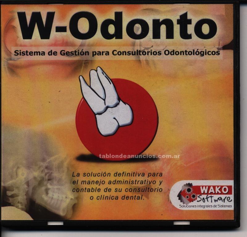 Software/Manuales: W-odonto el software para odontología