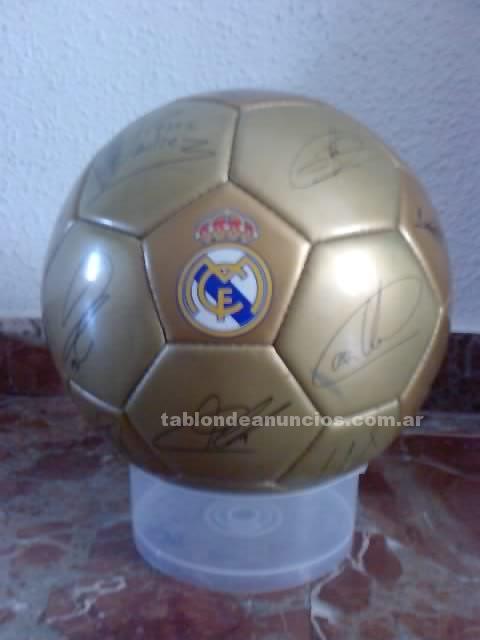 Deportes de Equipo: Balon real madrid firmado