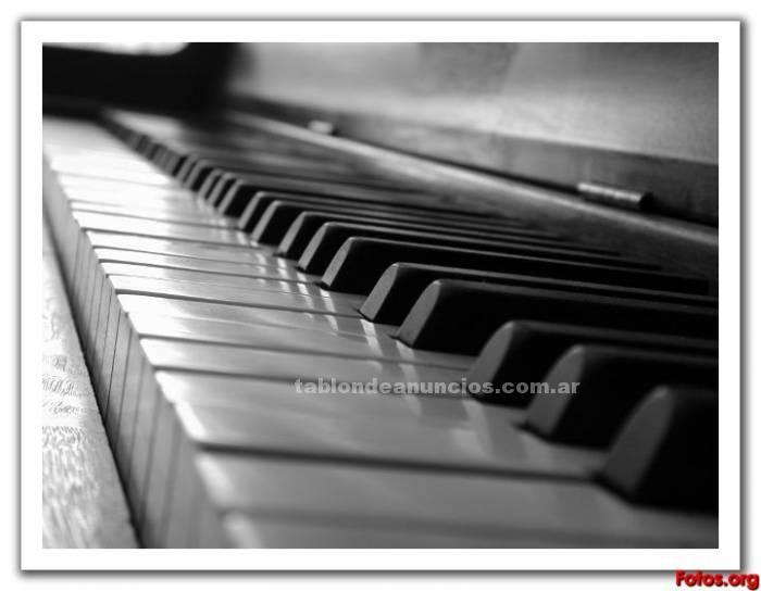 Formacion/cursos: Clases de piano - profesora de piano