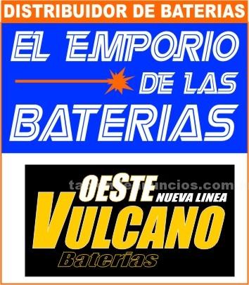 Autopartes: Baterias oeste vulcano