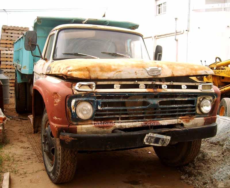 Camionetas: Vendo-- ford 600 modelo 66-- tandil