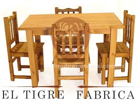 Fabrica de muebles de pino el tigre fabrica con fotos for Fabrica de muebles de pino