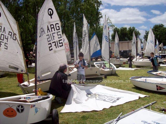 Deportes náuticos: Curso de navegacion a vela en optimist
