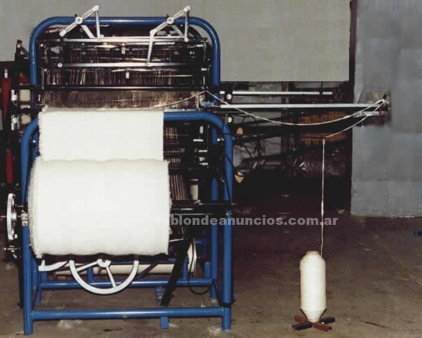 Maquinaria y Herramientas: Vendo telar automatico + regalo materia prima