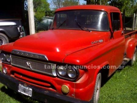 Camionetas: Dodge d100 - opotunidad!!!! muy buen estado - papeles al dia