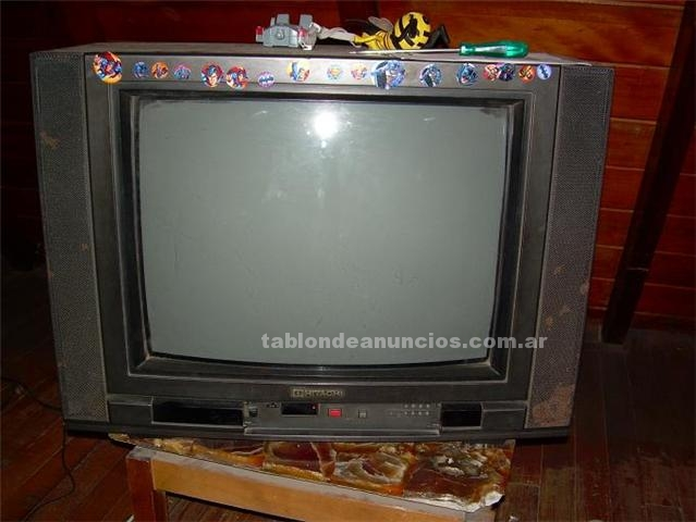 Video/TV/hifi/Telf: Tv hitachi 20 `` regalo 200 pesos