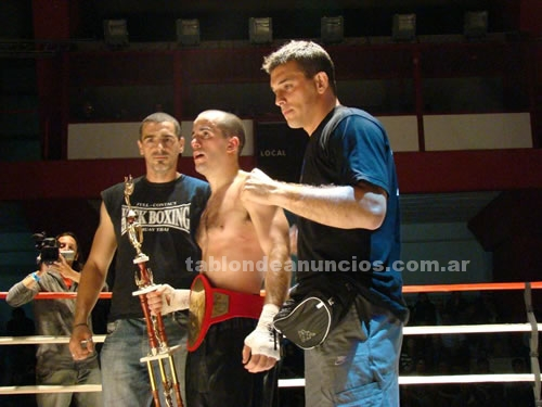 Gym Fitness: Clases personales de boxeo - full contact - kick boxing.