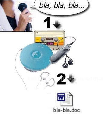 Examenes, tesis, proyectos: Transcribo audio a texto (.doc) - tesis - urgencias