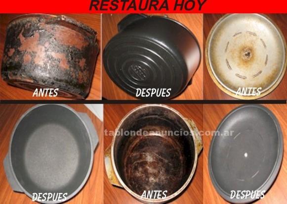 Reparaciones hogar: Restaura hoy tus viejas cacerolas con teflon y esmalte
