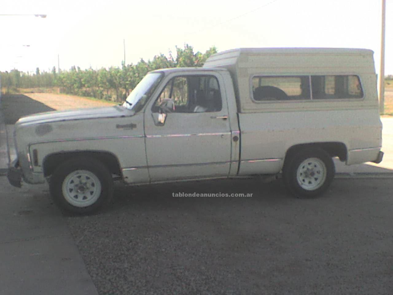 Automoviles: Chevrolet 77 con cupula y gnc