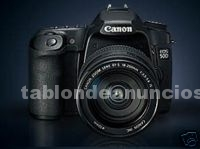 Fotograf./video/cine: Canon eos 50d incluido objetivo ef-s 17-85 mm.f4-5,6 is-