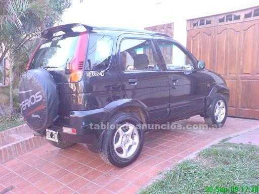 Automoviles: Daihatsu terios sx 4x4 -full- mod. 2001, impecable, unico dueño. 130.000km - vendo