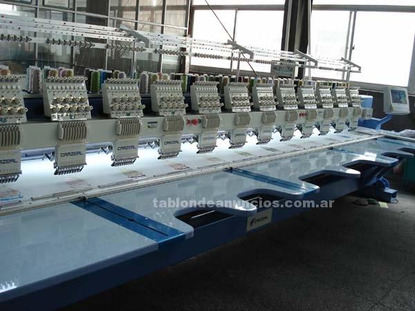 Comercio: Mobiliario y máquinas: Bordadoras camzeal garantÍa de fortaleza y velocidad