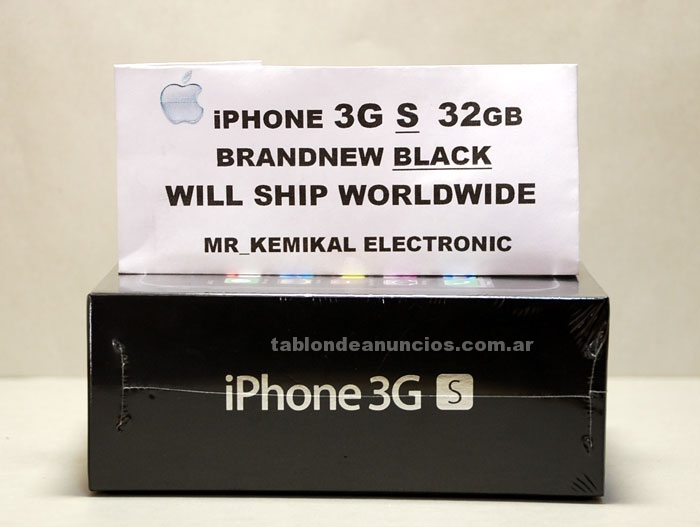 Impresora/Scanners: 3gs apple iphone factory unlocked