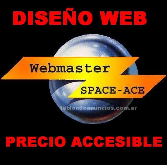 Webmasters: Diseños de paginas webs economicas y baratas spaceace
