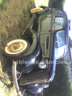 Automoviles: Vendo urgente chevrolet 1937 sedan de luxe (2 puertas)