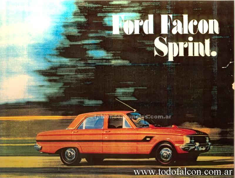 Automoviles: Vendo ford falcon sprint 72