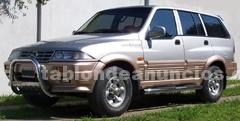 Camionetas: Ssangyong musso 602 el 1998 diesel 4 x 4 mercedes benz