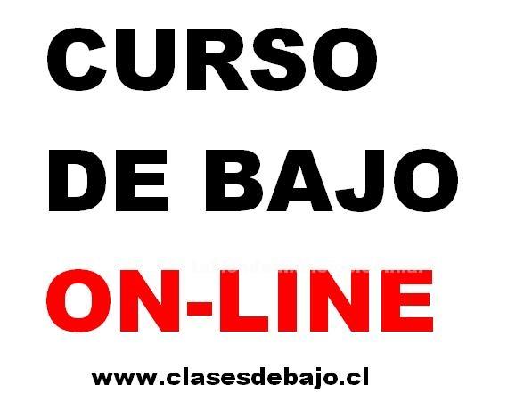 Clases particulares: Clase  de bajo eléctrico on-line