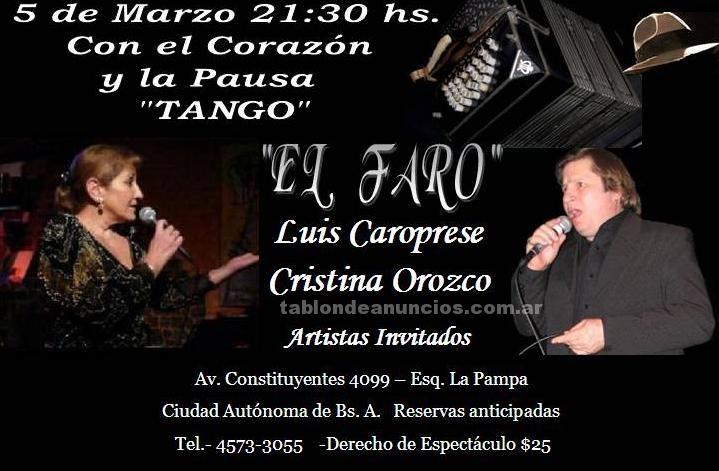 """Instrumentos musicales/Músicos: Con el corazon y la pausa """"tango"""""""