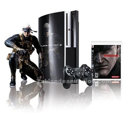 Video Consolas y Juegos: Playstation 3 - metal gear solid 4 bundle pack, 120gb