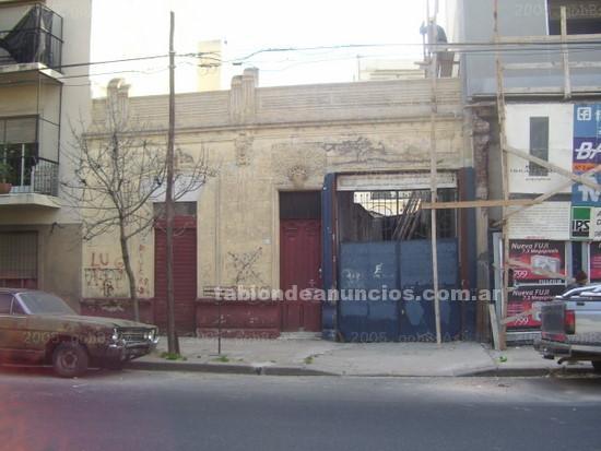 Terrenos urbanos: Se vende galpon de chap.y/ deposito valor lote  440 m2 todo destino -villa general mitre -paternal