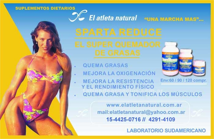 "Gym Fitness: Suplementos ""el atleta natural"""