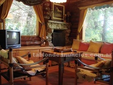 Alquiler Temporada: Alquilo cabaÑa de arte y madera  en bariloche 2010