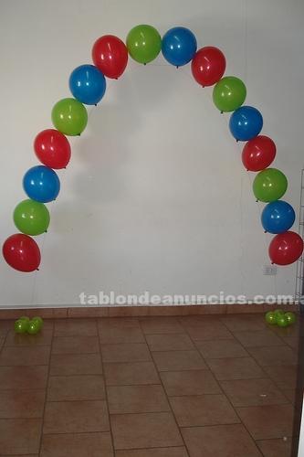 Decoradores: Decoracion y ambientacion  con globos