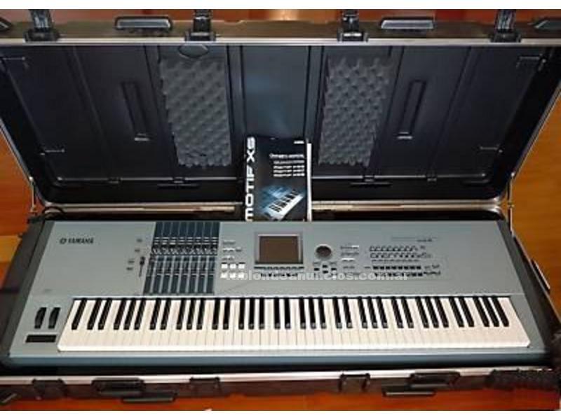 Instrumentos musicales/Músicos: Compre completamente yamaha motif xs8 synthesizer keyboard 700euro