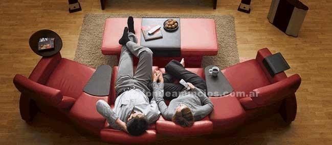 Muebles/Decoración: Sillon reclinable home theater