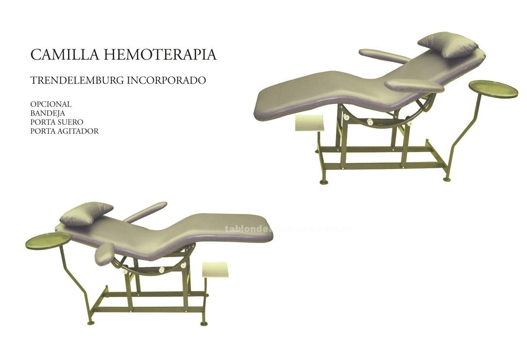 Oficina: Mobiliario y material: Sillon hemoterapia