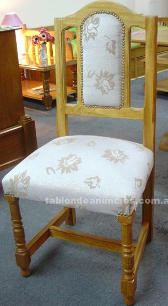 Muebles/Decoración: Sillas de comedor en roble