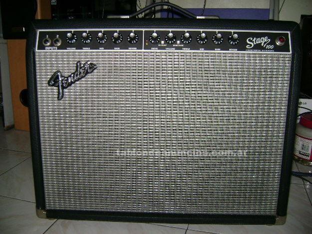 Instrumentos musicales/Músicos: Vendo amplificador fender stage 100 muy buen estado de remate