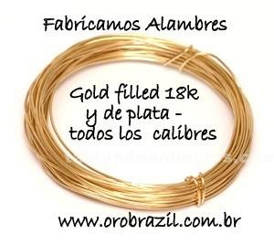 Ropa y complem.: Fabrica de materiales de oro gold filled 18k y platas para hacer bisuterias .
