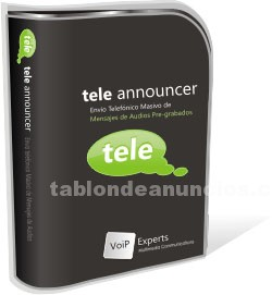Software/Manuales: Teleannouncer