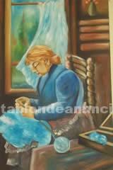 Muebles/Decoración: Pintamos cuadros al oleo y acrililico de fiestas, eventos, retratos, pintores famosos
