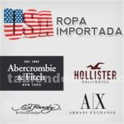 Ropa y complem.: U.s.a.ropa importada** abercrombie & fitch, hollister, armani, polo,ed hardy, christian audigier