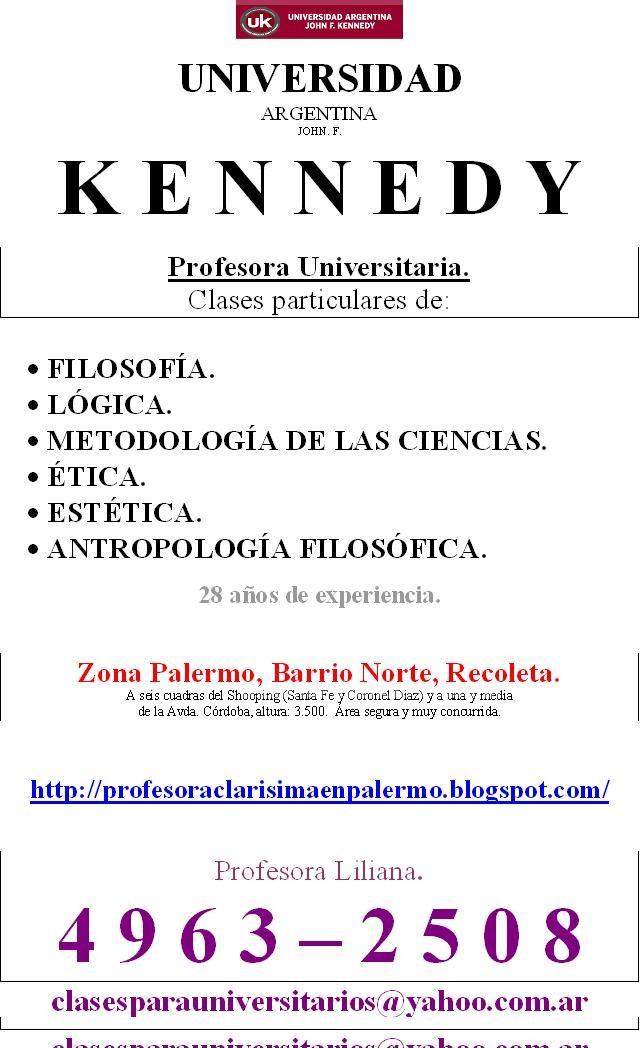Clases particulares: Profesora métodos de la investigación. Uk. 4963-2508. Barrio norte-palermo. Amplia experiencia. 9 a