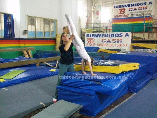 Clases particulares: AprobÁ  gimnasia en el profesorado de educaciÓn fÍsica