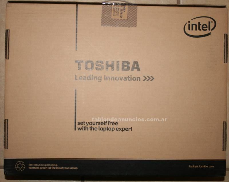 Ordenadores portátiles: Notebook toshiba dual core pentium 4gb ram disco 320 nueva en caja sellada