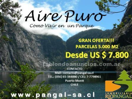 Terrenos rústicos: Entre lagos rios y montaÑas parcelas desde us$ 7.800, sur de chile, vive la naturaleza!!