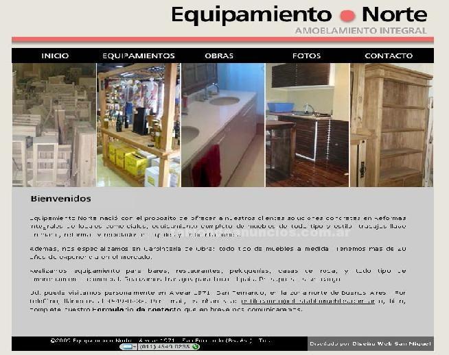 Muebles/Decoración: Fábrica de muebles en san fernando | equipamiento norte | muebles de todos los estilos