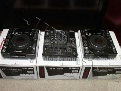 Instrumentos musicales/Músicos: Pioneer cdj-1000mk3 professional cd/mp3 turntable