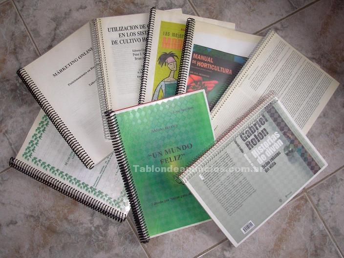 Libros, apuntes, trabajos, practicas: Impresiones digitales