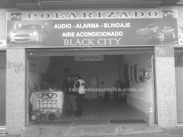 Talleres, Seguros...: Black city - polarizados