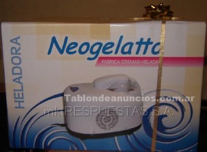 Electrodomésticos y menaje: Heladora neogelatto®