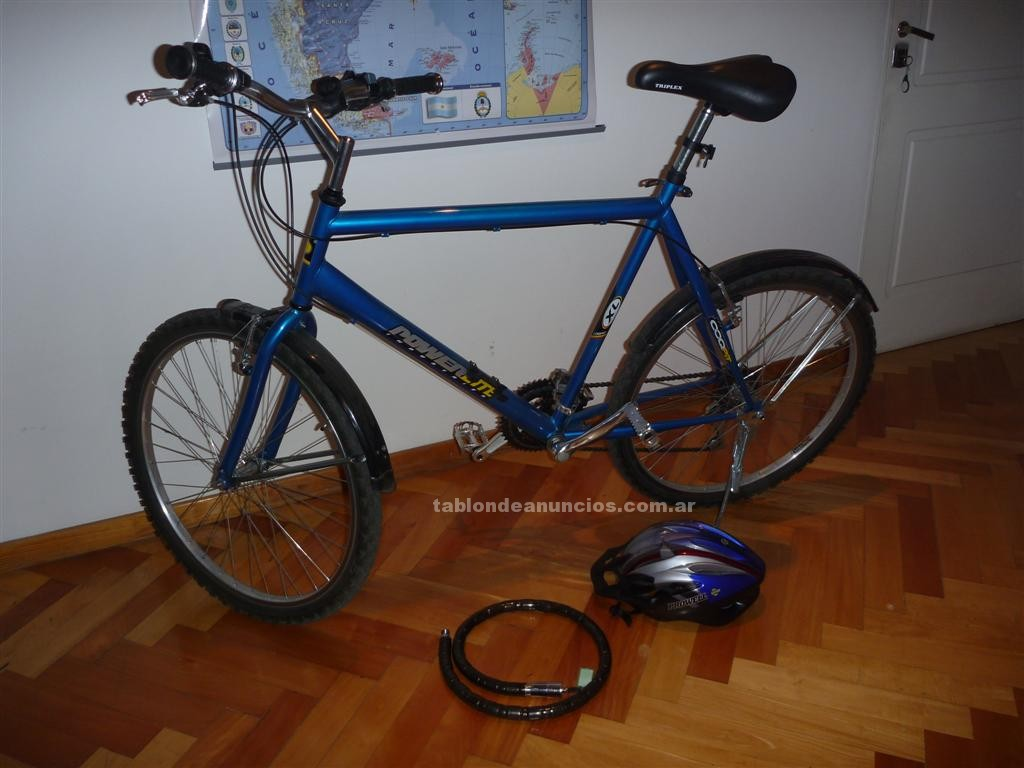 Ciclismo: Bicicleta montaña + casco+ candado + inflador